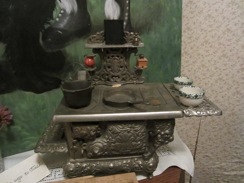 Antique Play Stove