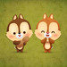 Kawaii Chip & Dale