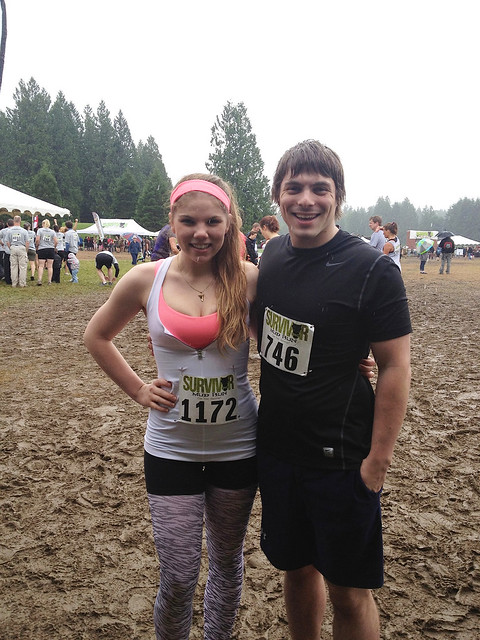 Survivor Mud Run Before