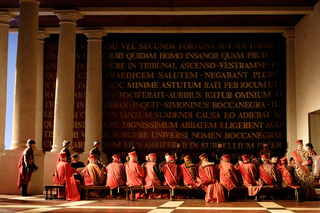 The cast of The Royal Opera in Simon Boccanegra © ROH/Johan Persson, 2010