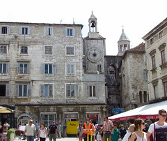 The Iron Gate, Diocletian's Palace, Split, Croatia