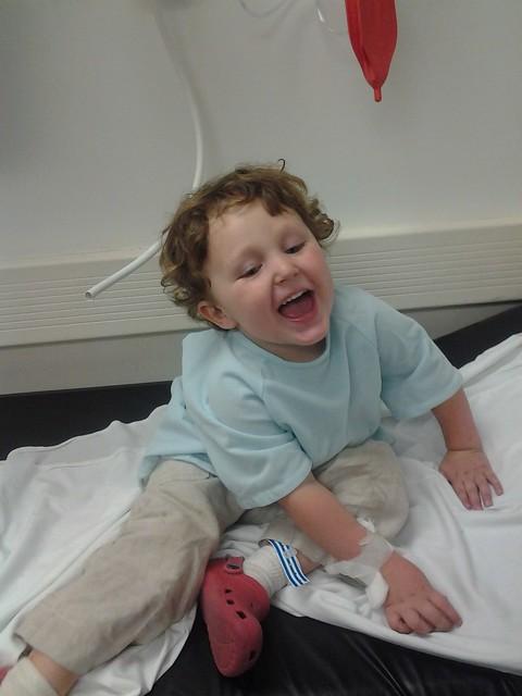Joe's first ER visit.