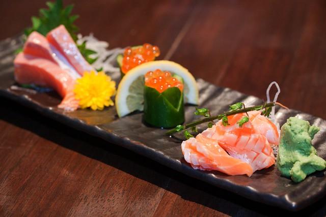 Salmon Zukushi ($58)