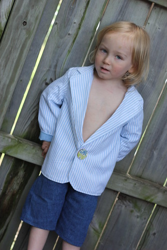 Melly Sews Toddler Blazer