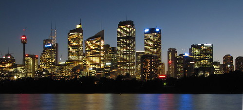 Bright lights, Big City: Sydney, Australia