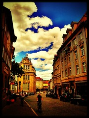 Clouds over #Eisenach. #today