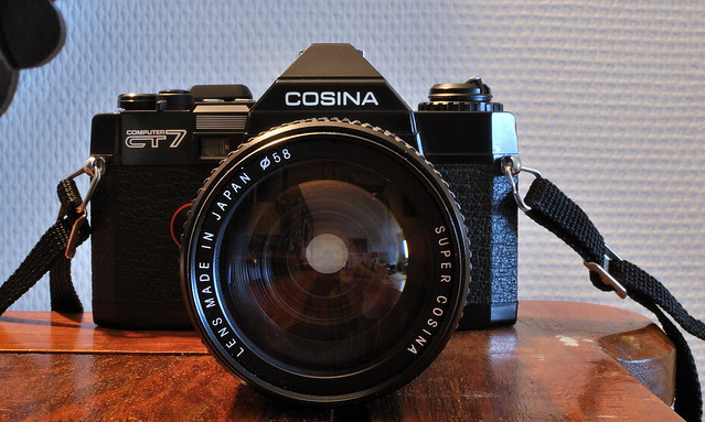 Cosina CT-7 with Super Cosina 35-135mm 1:3.5-4.5