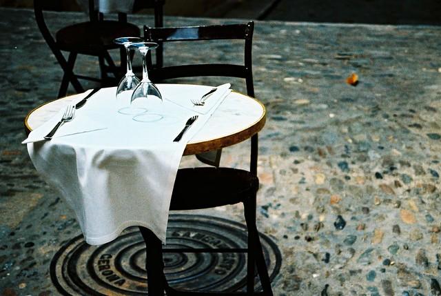 La taula està parada