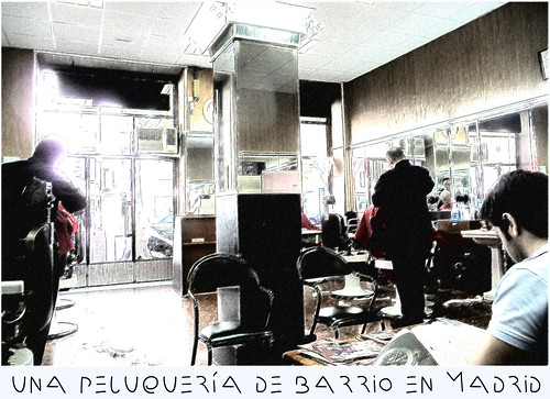 Una peluquería de barrio