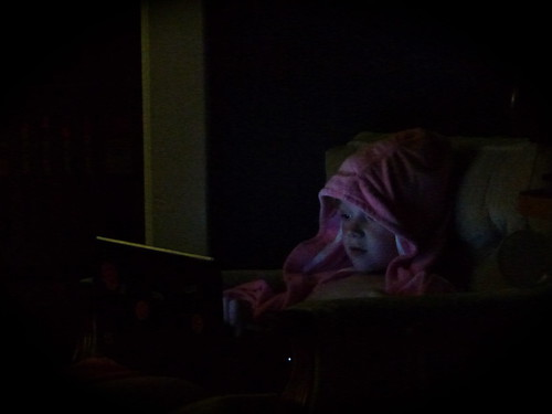 Nels, Late Night, Pink Robe