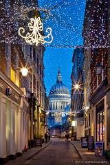 Watling Street & Saint Paul's Cathedral