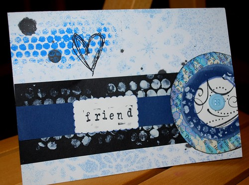 Mixed Media card