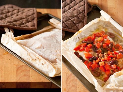 Parchment Baked Cod
