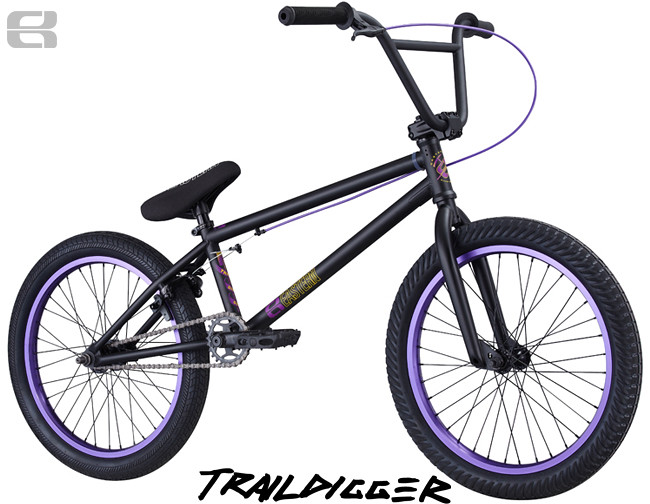 PS 2013 Traildigger Black Purple