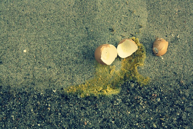 fry egg on sidewalk :: fail.
