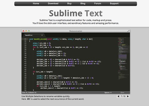 Sublime Text 2.0