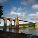 'Suspension Sunlight' - Menai Bridge, Anglesey