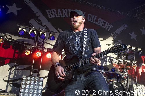 Brantley Gilbert - 06-29-12 - Live In Overdrive Tour, DTE Energy Music Theatre, Clarkston, MI
