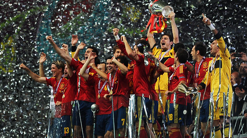 SPAIN... 2012 EURO CHAMPIONS...!!! by Ben Tacon