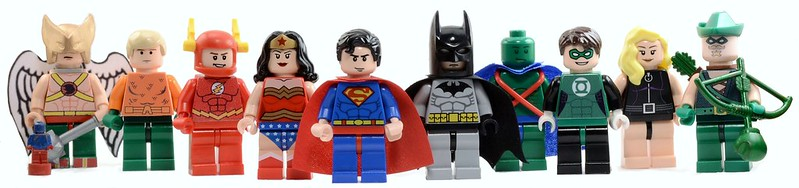 Lego Justice League of America (original 11)