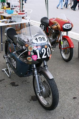 Ducati 350 Mk3 (198) & Ducati 175 (127), Philippe Weber