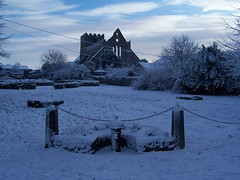 St.Mary's Church in winter