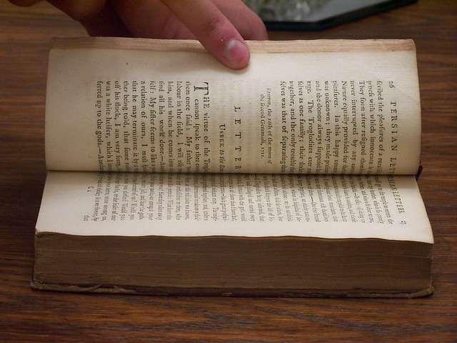•1773 Montesquieu Persian Letters vol 2- 10