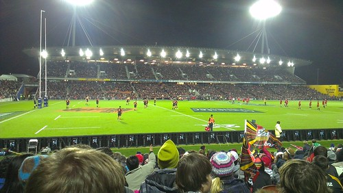 Still best rugby stadium in NZ cc @chiefsrugby