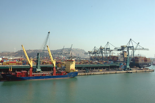 Launch of the new Tercat terminal in the Port of Barcelona