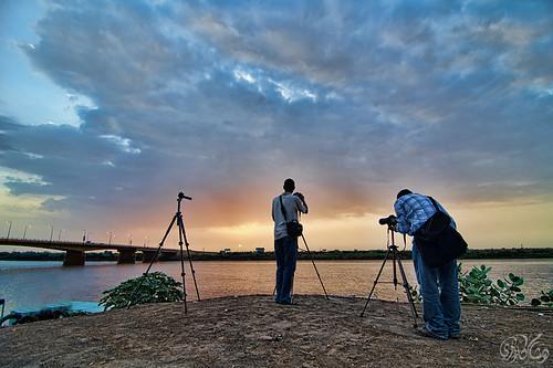 sunrise boat sudan nile khartoum nileriver hishamkarouri manshiabridge