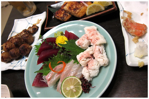Sashimi, Tempura and ... by melmok