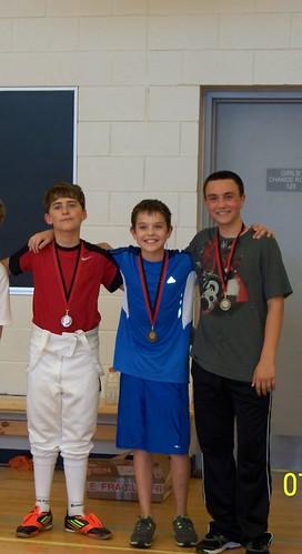 3 by westdale fencing club