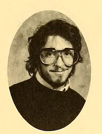 glasses davidsedaris wcu yearbooks annuals westerncarolinauniversity