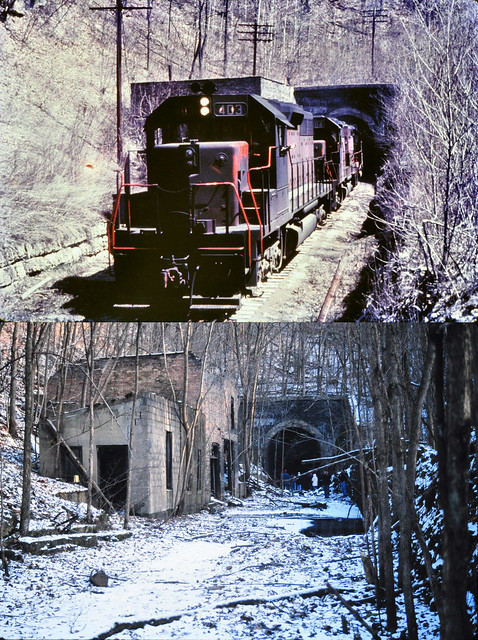 Before - CGW at Winstin tunnel 1968  & after 2001