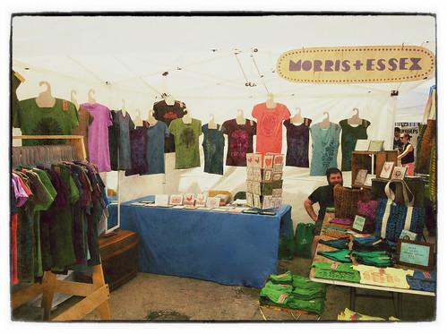 Morris & Essex booth