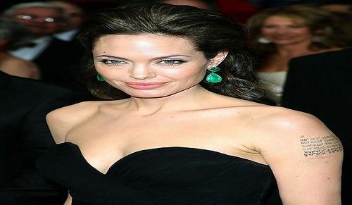 Angelina Jolie Jewelry Line Video