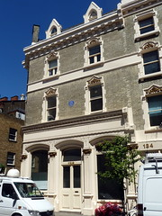 Photo of Emma Cons blue plaque