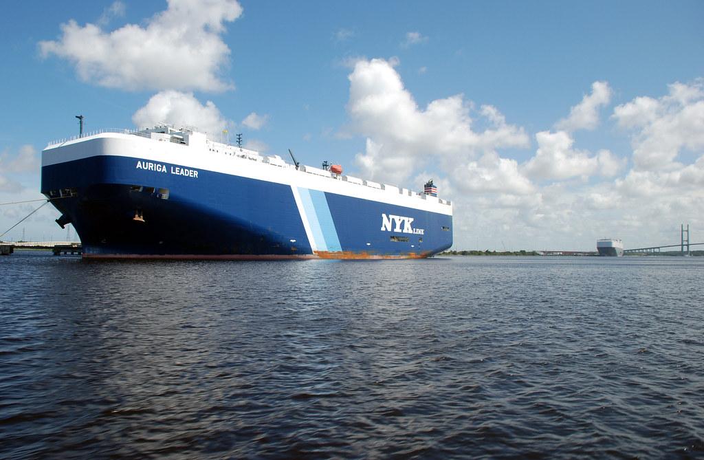 Blount Island Marine Terminal Ro/Ro Ship   7/12/2012 This 75