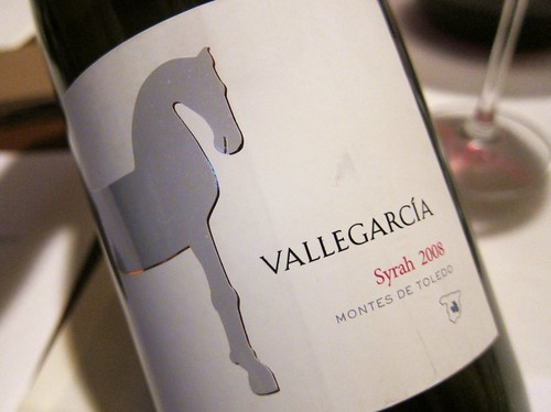 2008 Vallegarcia Syrah Montes de Toledo