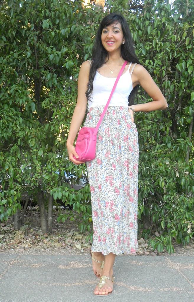 Floral Maxi Skirt_5