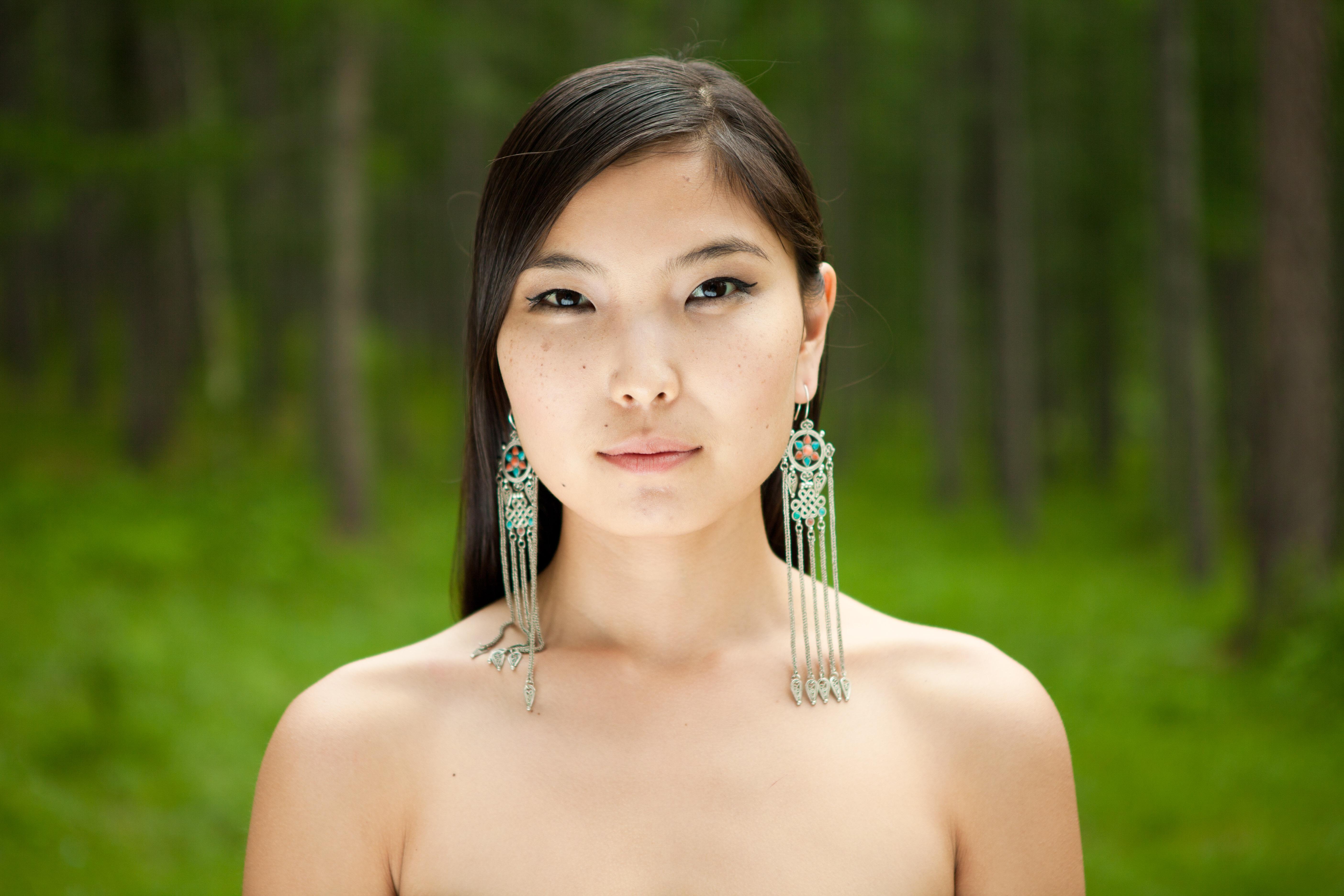 Nude mongolian exposed wife