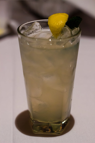 Mint Lemonade at The Capital Grille