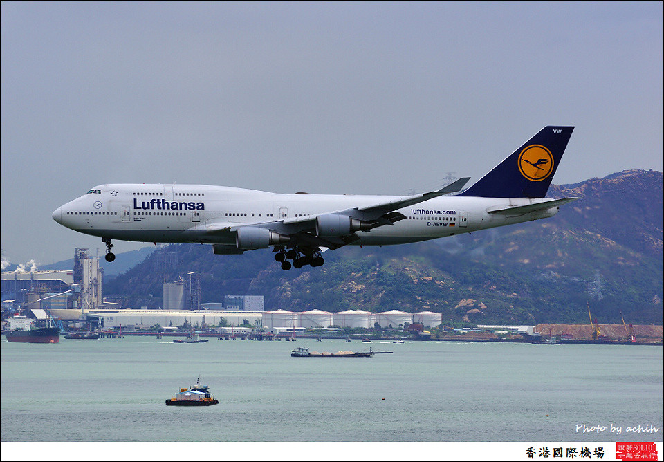 Lufthansa / D-ABVW / Hong Kong International Airport