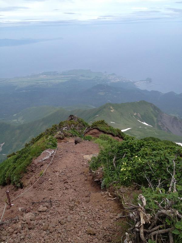 利尻岳の山頂付近 その2