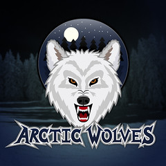 The Arctic Wolves hockey team logo