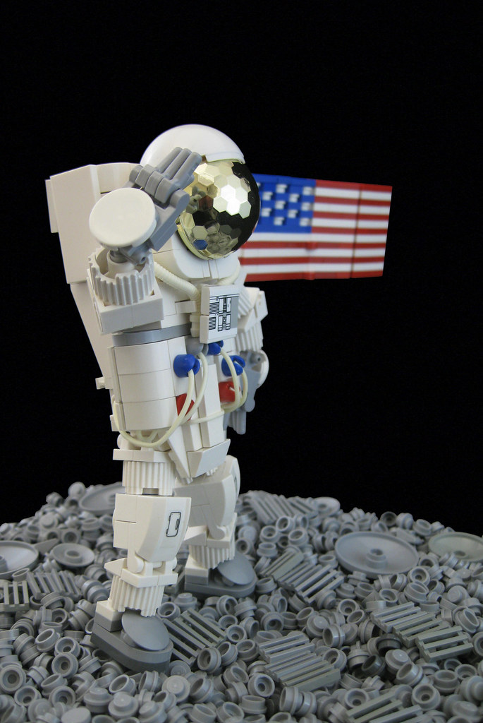 lego astronaut spaceship - photo #24
