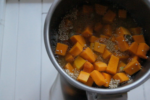 Pumpkin and Quinoa Soup