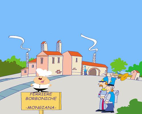A spasso con Mestolo a Mongiana
