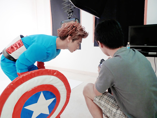 typicalben captain america photoshoot 1