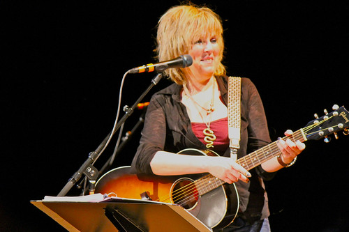 Lucinda Williams smile